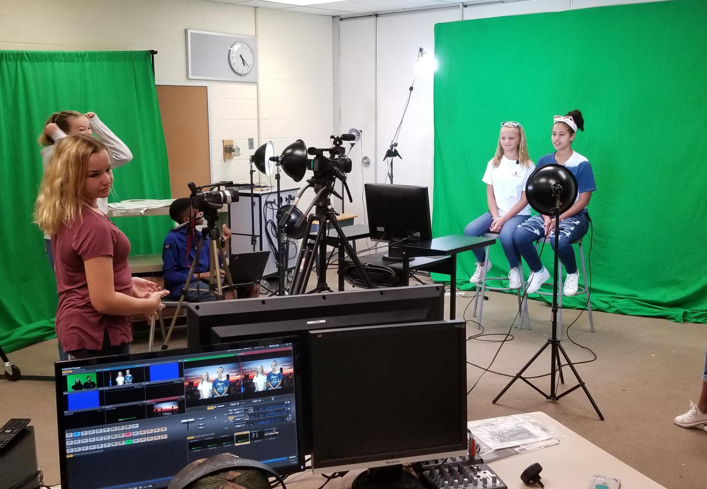 The Reidsville Middle School News room